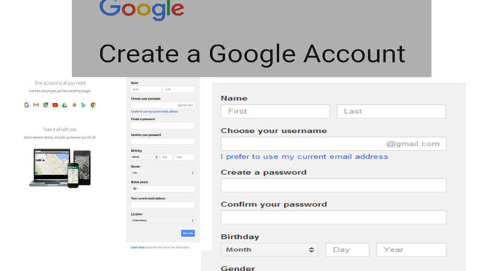 Gmail New Account - Steps to Create a Gmail Account | Google Account Login