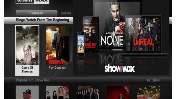 Showmax App - Watch Movies, TV Series | Available Countries on Showmax Packages