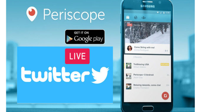 Twitter Live - How to Go Live on Twitter   Periscope App   www.twitter.com