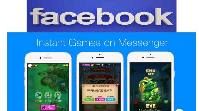 Play Free Facebook Games - How to Play Facebook Instant Games | Facebook App