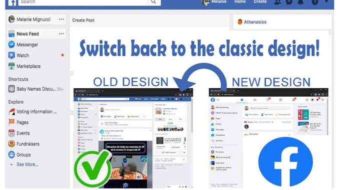Facebook Classic View Settings - How to Switch to Facebook Classic Mode on Your Facebook Account