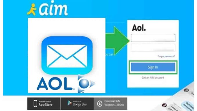 AIM Mail and Access My AOL Mail Login Screen Name