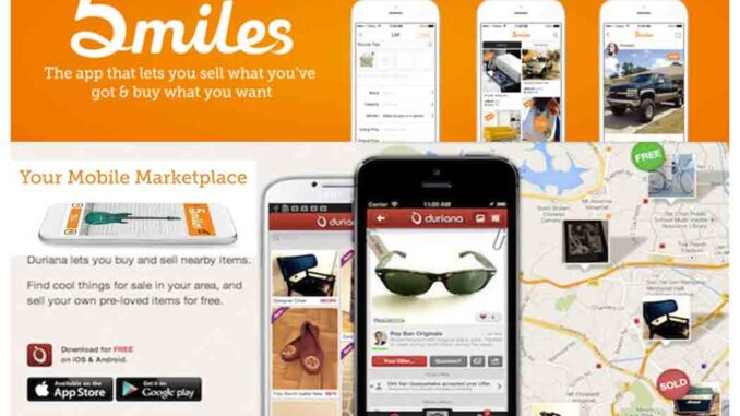 5miles - Buy and Sell Used Items Locally with 5mile App