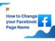 How To Change Page Name On Facebook - Facebook Business Page Name Change