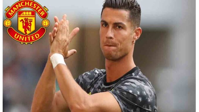 Cristiano Ronaldo Signs For Manchester United - Welcome CR7